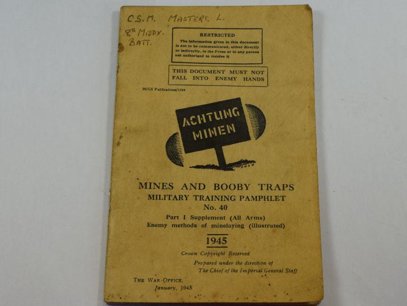 ww2 booby traps manual pdf