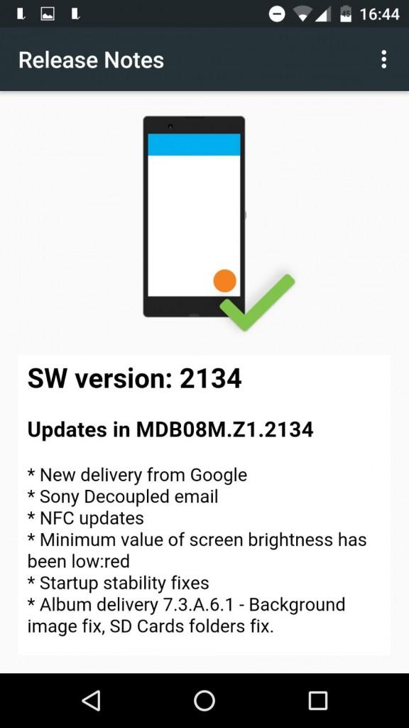xperia z3 manual firmware update