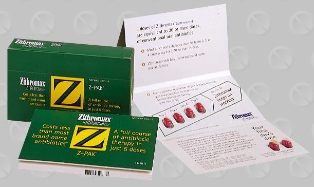 z pack 5 day dosage instructions